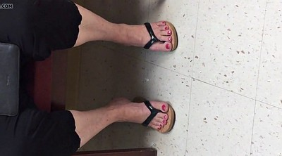 Foot, Candid