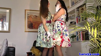 Glamour, Lesbians in stockings