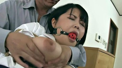 Japanese threesome, Japanese milf, Asian mature, Tied, Japanese bondage, Asian bondage