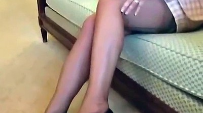 Mature foot, Office stocking, Legs, Stocking mature, Stocking foot, Mature office