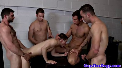 Group anal, Cum covered