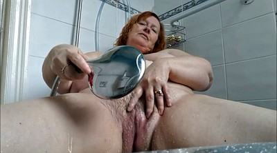 Mature, Bathing, Bbw shower, Shower mature