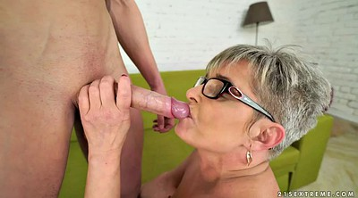 Old granny, Pussy, Chubby mature