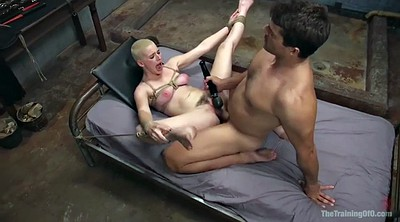 Squirt, Tied, Short hair, Cumshot