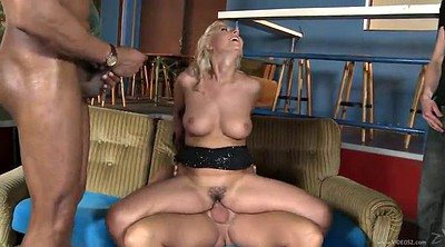 Dirty anal, Blond, Double blowjob