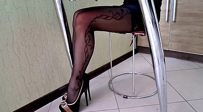 Stockings, Shoe, High, Stock, High shoe, Heel stocking