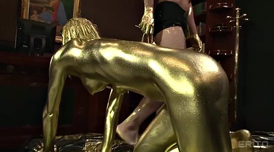 Slave, Paint, Golden