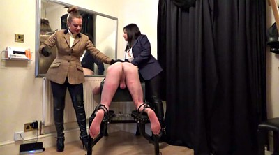 Cfnm, Caning mistress, Caning
