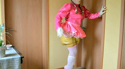 Diaper, Diapers, Skirt, Sister and sister, Shemale bdsm