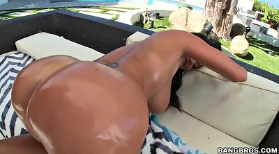Ava addams, Close up, Oil ass, Mature outdoor, Mature huge tits, Mature big ass