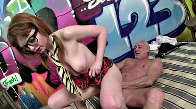 Granny anal, Old man, Abused