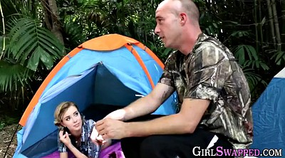 Stepdaughter, Camping, Teen outdoor, Camp