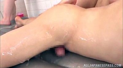 Japanese threesome, Japanese shower, Japanese handjob