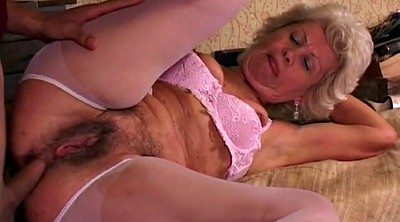 Granny anal, Matures hairy anal