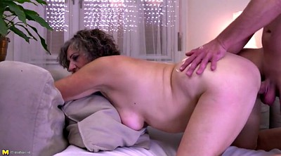 Boy, Grandma, Milf boy, Milf and young boy, Hairy granny, Hairy fuck