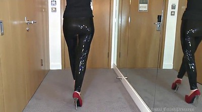 Liquid latex, Legs, Latex leggings