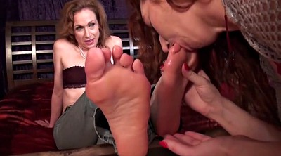 Aunt, Mature feet, Femdom worship, Feet worship, Mature lesbian feet, Mature soles