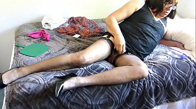 Small cock, Funny, Stocking sex