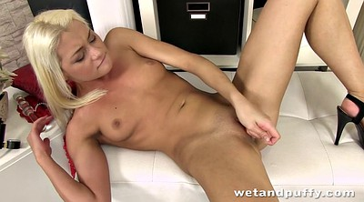 Solo orgasm, Young pussy, Solo toy, Pink