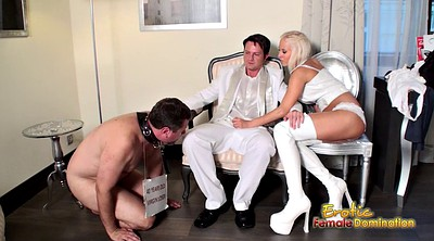 Cuckold femdom, Shoe, Shoes, Cleaning