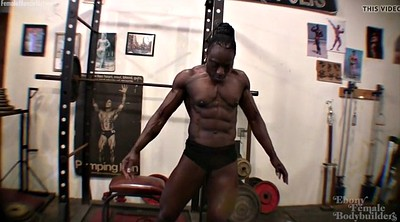 Black muscle, Ebony muscle, Goddess, Muscular, Roxanne