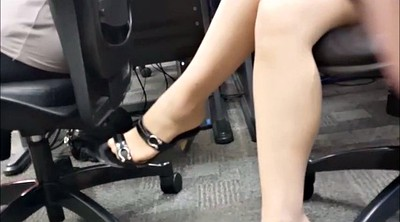 Nylon, Boss, Heels, Candid, Nylon foot