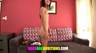 Thai, Dancer, Casting, Thai teen, Audition, Skinny asian