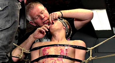 Tied, Young and old, Gay slave, Gay bdsm