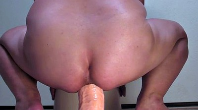 Dildo ride, Bbw dildo riding