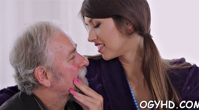 Young blowjob, Old guy, Hottie