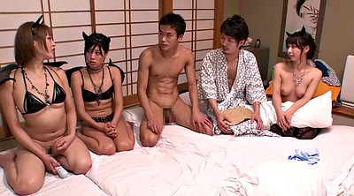 Asian sex, Asian orgy, Asian group