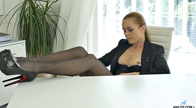 Office, Russian mature, Russian milf, Mature russian