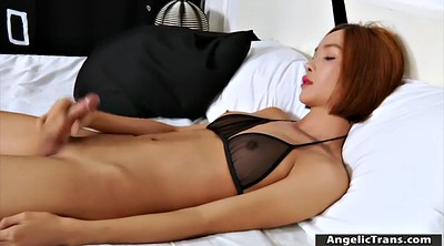 Solo big tits, Shemale small cock, Asian tit, Asian shemale solo