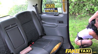 Fake taxi, Mad, London, Pov milf