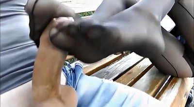 Nylon footjob, Nylon foot, Nylon feet, Feet fetish, Teen feet, Feet nylon