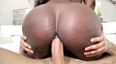 Ass licking, Ebony ass, Ride