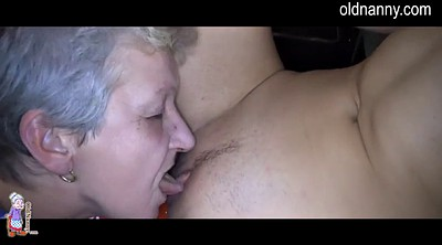 Lesbian granny, Old and young lesbians, Young girl, Old lesbians