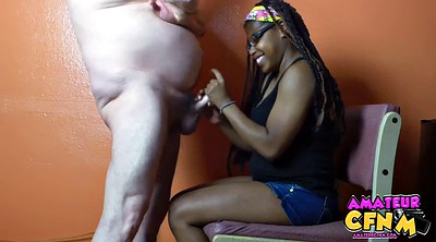 Teen handjob, Chubby white, Black teen