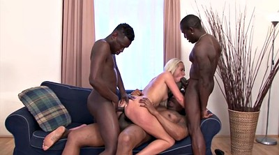 Interracial gangbang, Dumb