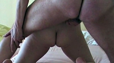 Missionary creampie, German doggy