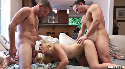 Foursome, Sloppy blowjob