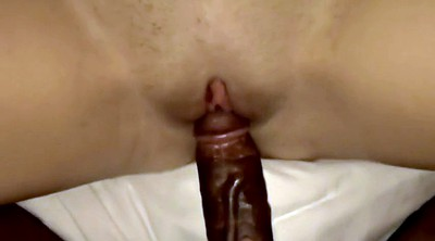 Black cock, Interracial creampie