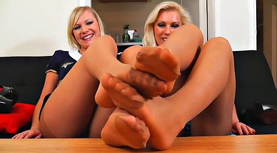 Feet, Nylon foot, Nylon feet, Feet show