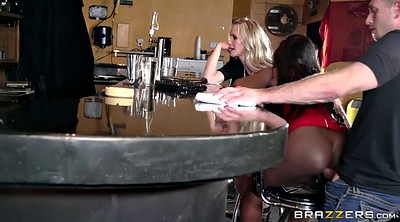 Cougar anal, Blacked anal, Bartender