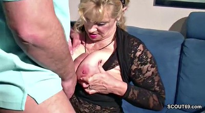 Monster cock, Big tits milf