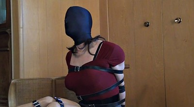 Bondage, Crossdresser, Crossdress, Sandra, Trying, Hood