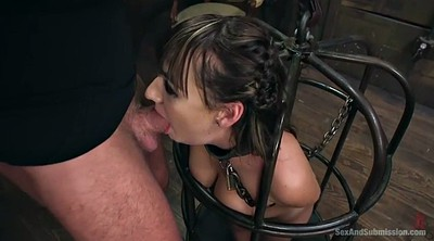 Tied up, Charlotte, Bondage fuck, Submission, Cross, Tied up fuck