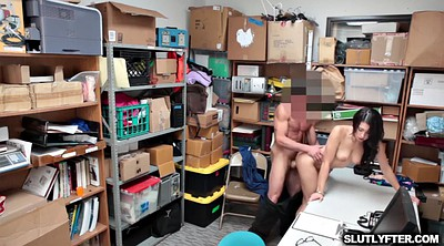 Desk, Teen fuck, Spread, Desk fuck