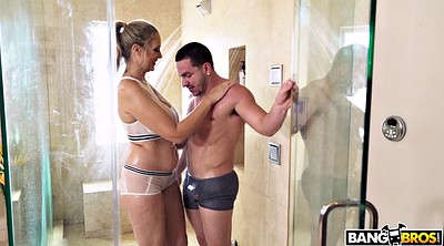Julia ann, Shower mature