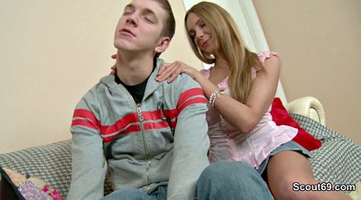 German anal, Brother sister, Seduce, Brother, First anal, Teen sister